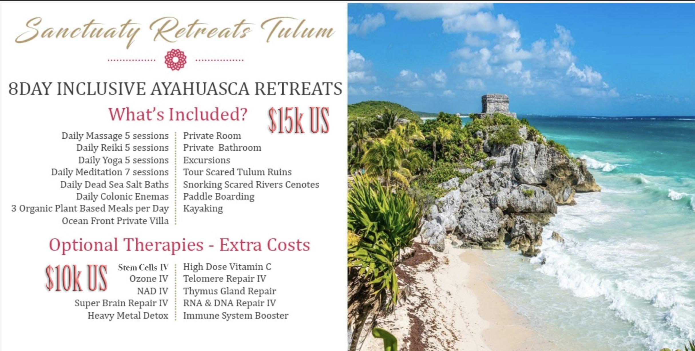 Luxury Ayahuasca Retreats